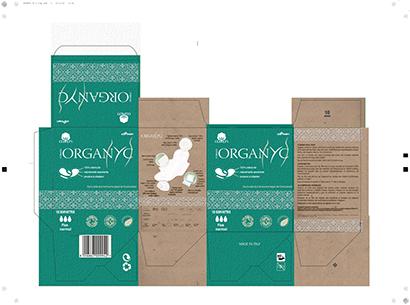 packaging per prodotti femminili