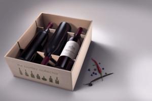 etichetta per bottiglie da collezione