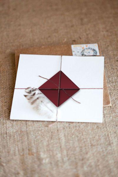 L&A invito origami