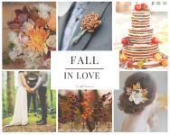 idee e suggestioni, i colori di un matrimonio in autunno