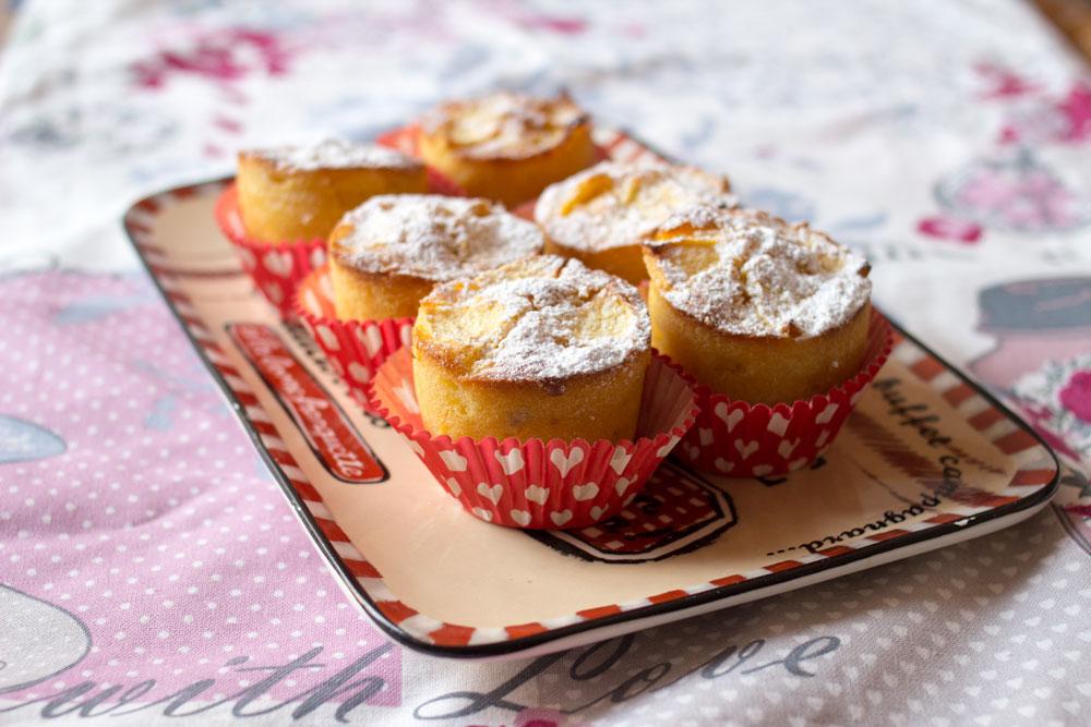 muffin alle mele per stare attente in gravidanza